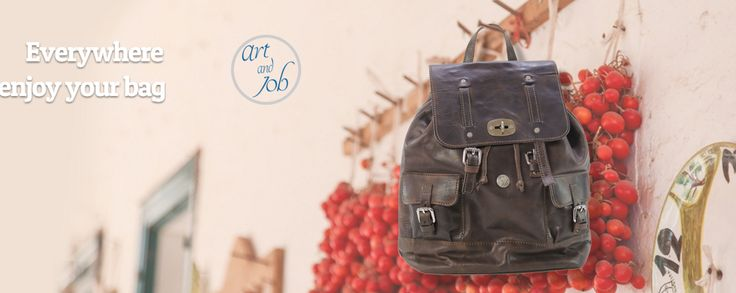 the excellence of Made in Italy     - everywhere, enjoy your bag -               #artandjob