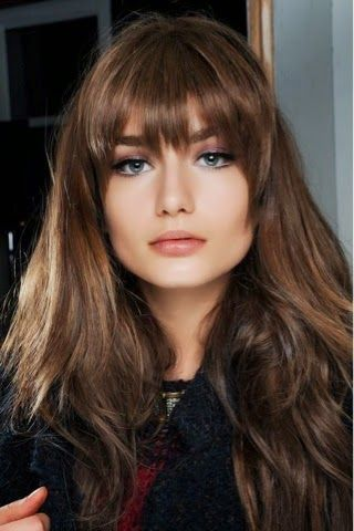 How to Chic: HAIR INSPIRATION - BRUNETTE