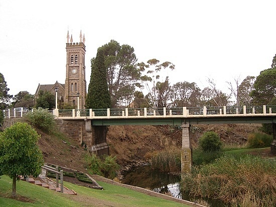 Strathalbyn SA - Went to high school here, the odd moon or two ago. Well too many to count really. Very pretty South Australian town. S