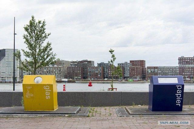 Системы подземного хранения мусора