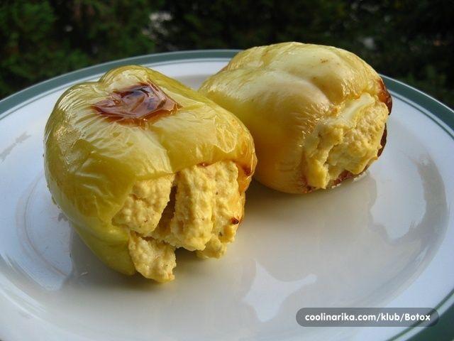 paprike punjene jajima i sirom