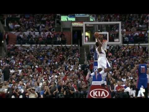 Chris Paul sets up the alley-oop to DeAndre Jordan for the BIGGEST dunk of his career.  Visit nba.com/video for more highlights.