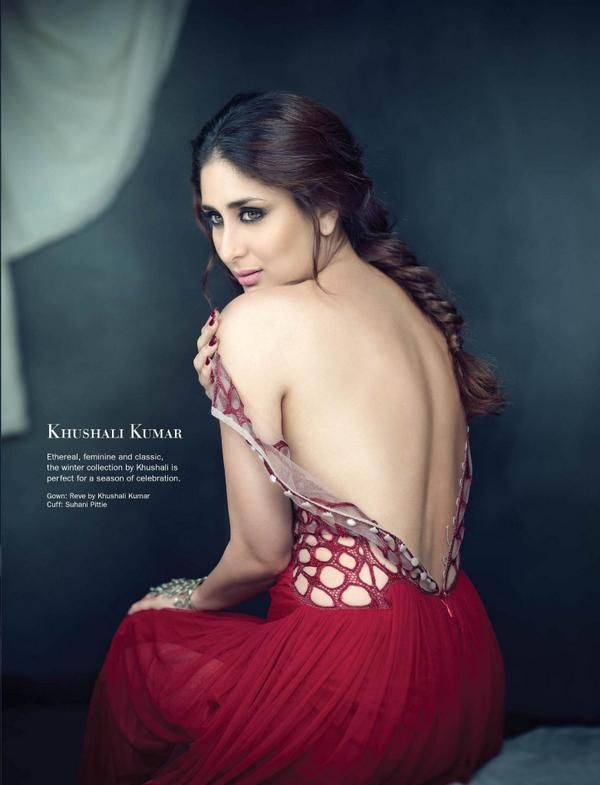 Diva Kareena Kapoor on Cover of Filmfare November 2014 Issue