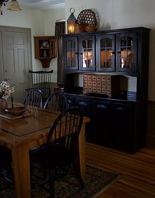decor country dining rooms prime decor country kitchens black hutch