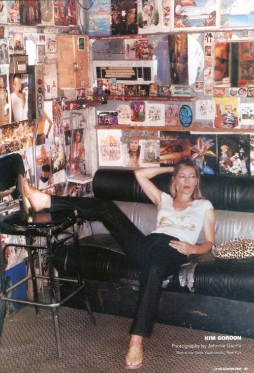 Kim Gordon in i-D Magazine October 1999
