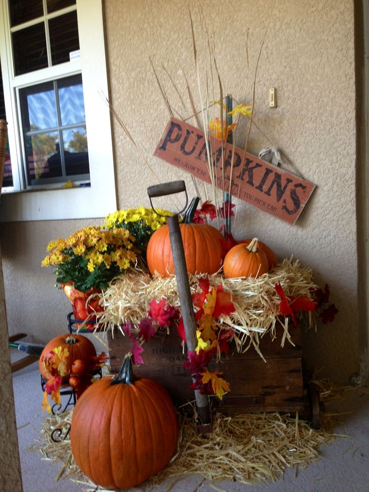 fall wagon for front porch