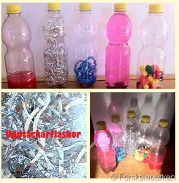 Upptäckarflaskor - Förskoleburken