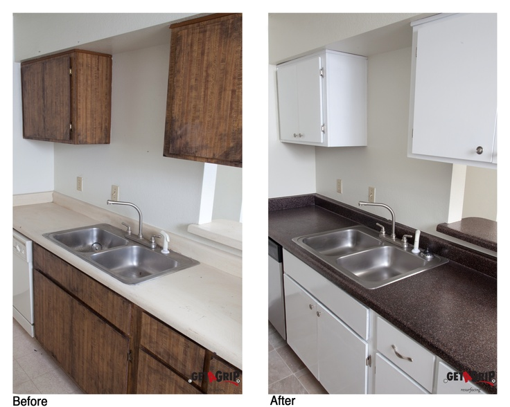 Countertop Resurfacing Kitchen Pinterest