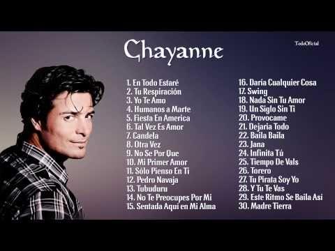 Las 30 Mejores Canciones de Chayanne || Mix Románticas 2016