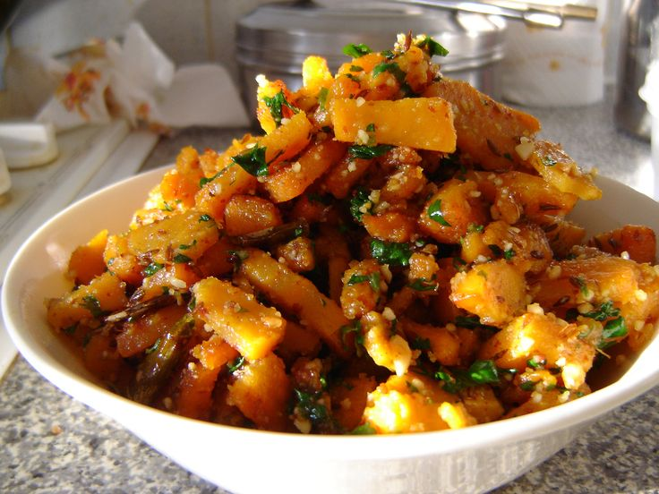 Skillet Sweet Potatoes