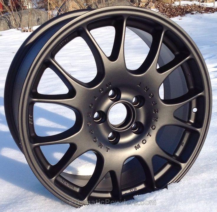 BBS Motorsport Powder Coated Wheels - Black Jack