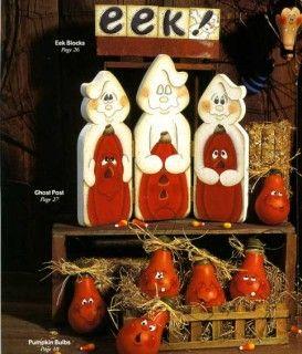halloween tole painting   Halloween Winter Snowman Pumpkin Light Bulbs Tole Painting Patterns ...