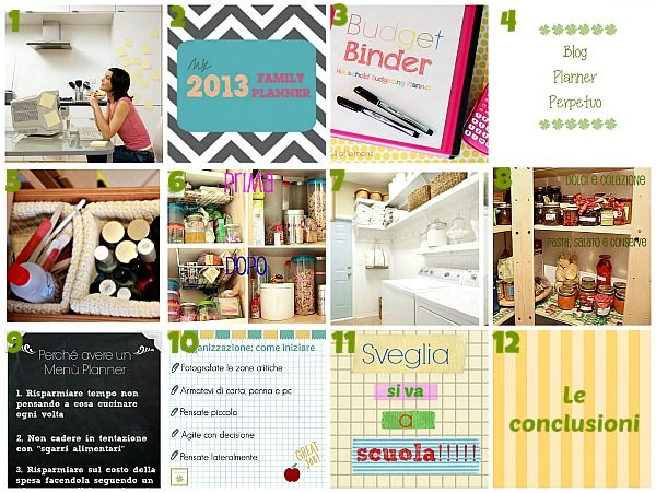 Twelve weeks to organize your life - 12 settimane per organizzarsi