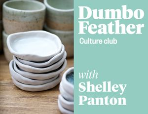 Image of Pottery Workshop w Dumbo Feather Culture Club .. In July i'll be hosting a one day workshop at The White House in St Kilda