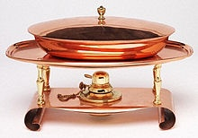 Chafing-dish - Wikipedia, the free encyclopedia