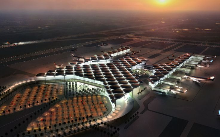 Queen Alia International Airport | Projects | Foster + Partners