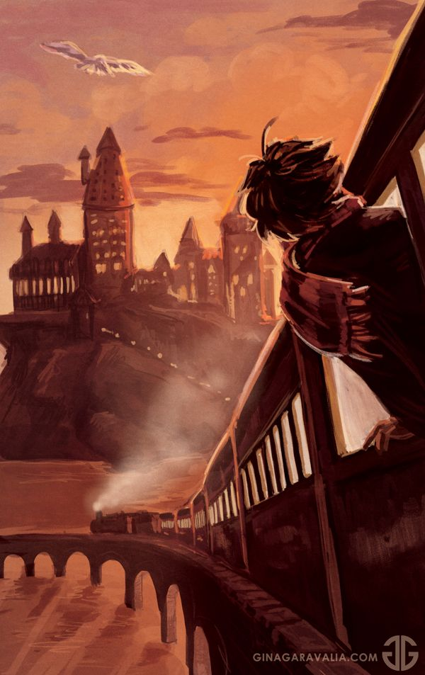 I've been seeing a lot of Harry Potter on my dash today and I'm 100% okay with it. Happy September 1st, all! I made a speedpaint video for this - look for it sometime tomorrow probably.
