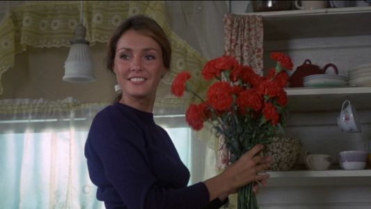 """Jennifer O'Neill in """"The Summer of '42"""". Charter President. Fell SO hard in love with her. The classics never go out of style."""