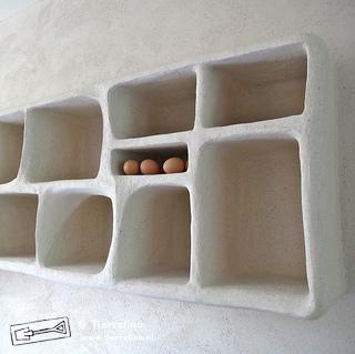 Afrikaanse Keukenkast met tadelakt