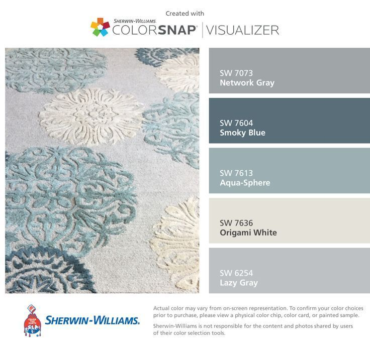Used My Living Room Rug And I Found These Colors By Sherwin Williams Network Gray Sw 7073 Living Room Colors Living Room Color Schemes Paint Colors For Home