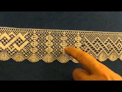 Bolillos puntilla diferentes picados, Alfonso - YouTube