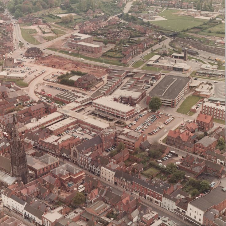 (C) Lichfield District Council- Lichfield City Early 1990s