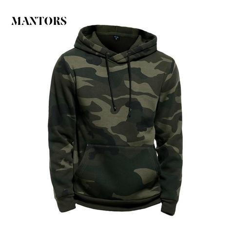 Yayu Mens Hoodie Sweatshirt Pullover Long Sleeve Camouflage Hoodie Sweatshirt