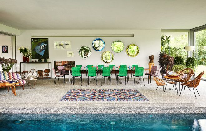 Style Dynasty - Missoni Pool Room