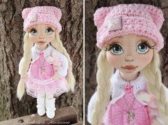 Авторские куклы Катерины Кузьминой