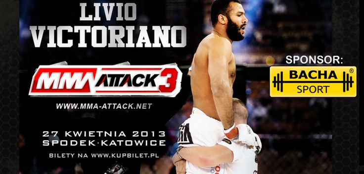 Bacha sponsorem zawodnika MMA Livio Victoriano  http://www.bachasport.pl/wiadomosci/267-bacha-sponsoruje-zawodnika-mma-livio-victoriano