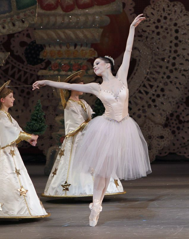 "Megan Fairchild (Sugar Plum Fairy) with New York City Ballet in ""The Nutcracker"""
