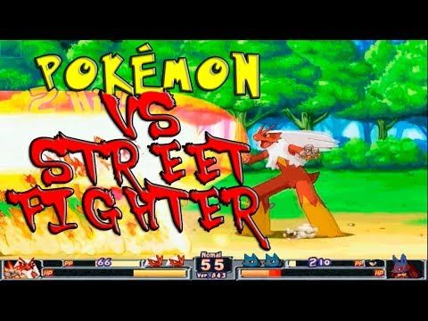 POKEMON TYPE WILD PC GAMEPLAY | POKEMON A LO STREET FIGHTER (+lista de r...