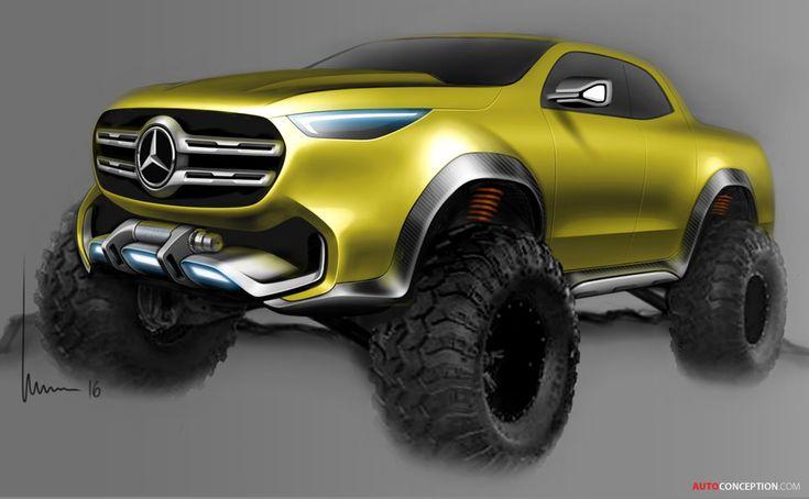Mercedes-Benz X-Class Concept Previews New Pickup Truck