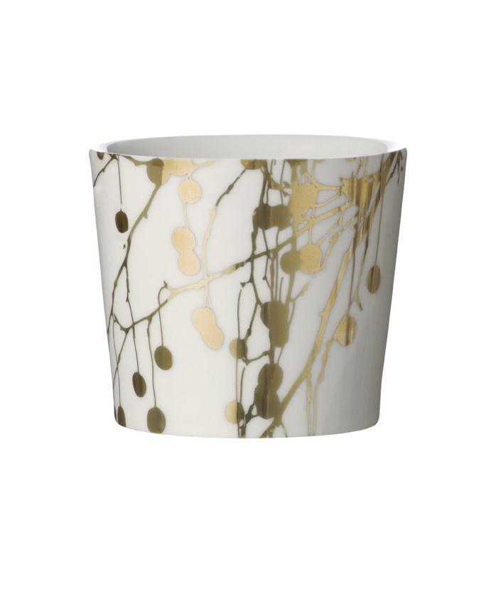 Tree Bomb Mug - Gold