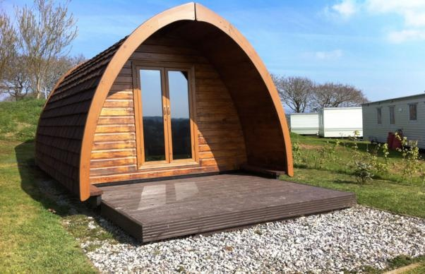 Camping Pods available for Hire at Meadow Lakes in Cornwall March 15th 2013, from £32 a night