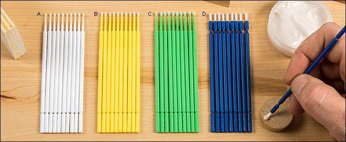 Microbrush® Applicators - Woodworking