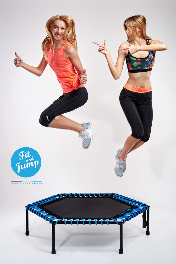 Niech Twój trening sprawia Ci radość! :D #fitandjump #fitnessnatrampolinach #polishgirl #crazy #sport