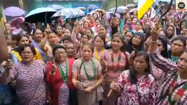 Gorkha Janmukti Yuva Morcha Mungpoo Labdah Samashti Narimorcha Org Progr...