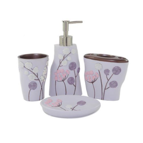 34 best images about bathroom accessories sets on for Bathroom accessories collection