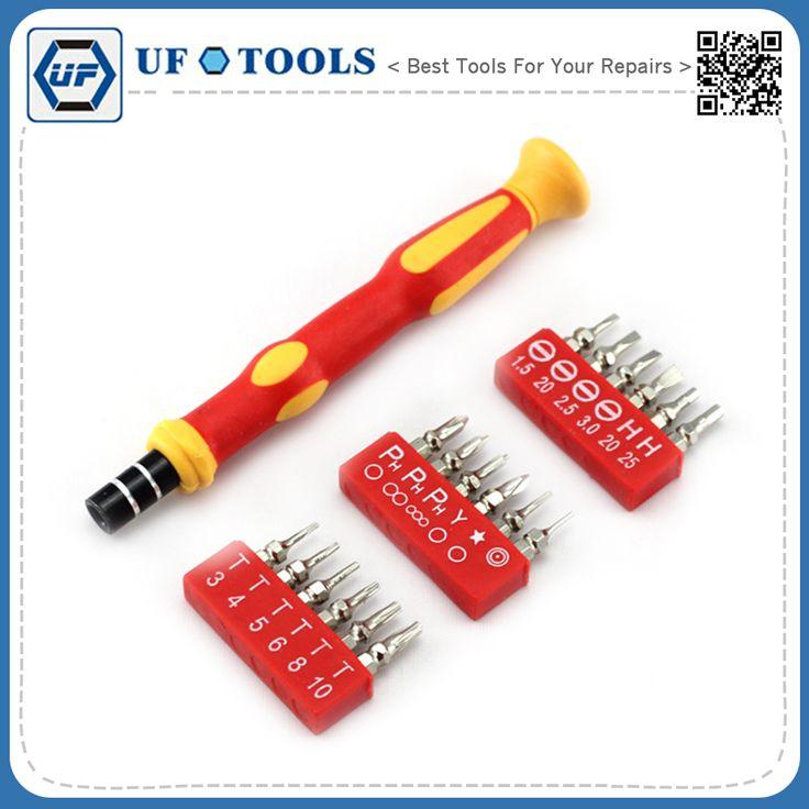t3 t4 t5 t6 torx screwdriver set, 19 piece mobile phone screwdriver repaire kit tools