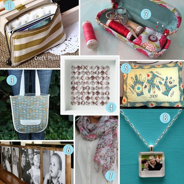 DIY Christmas Gift Guide for Women - 2012