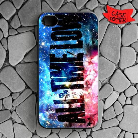 All Time Low Galaxy Nebula iPhone 4 iPhone 4S Black Case