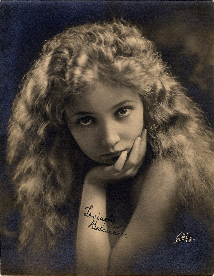 Bessie Love --- Vintage Movie Star Photos: Silent Era Photographer Walter Frederick Seely