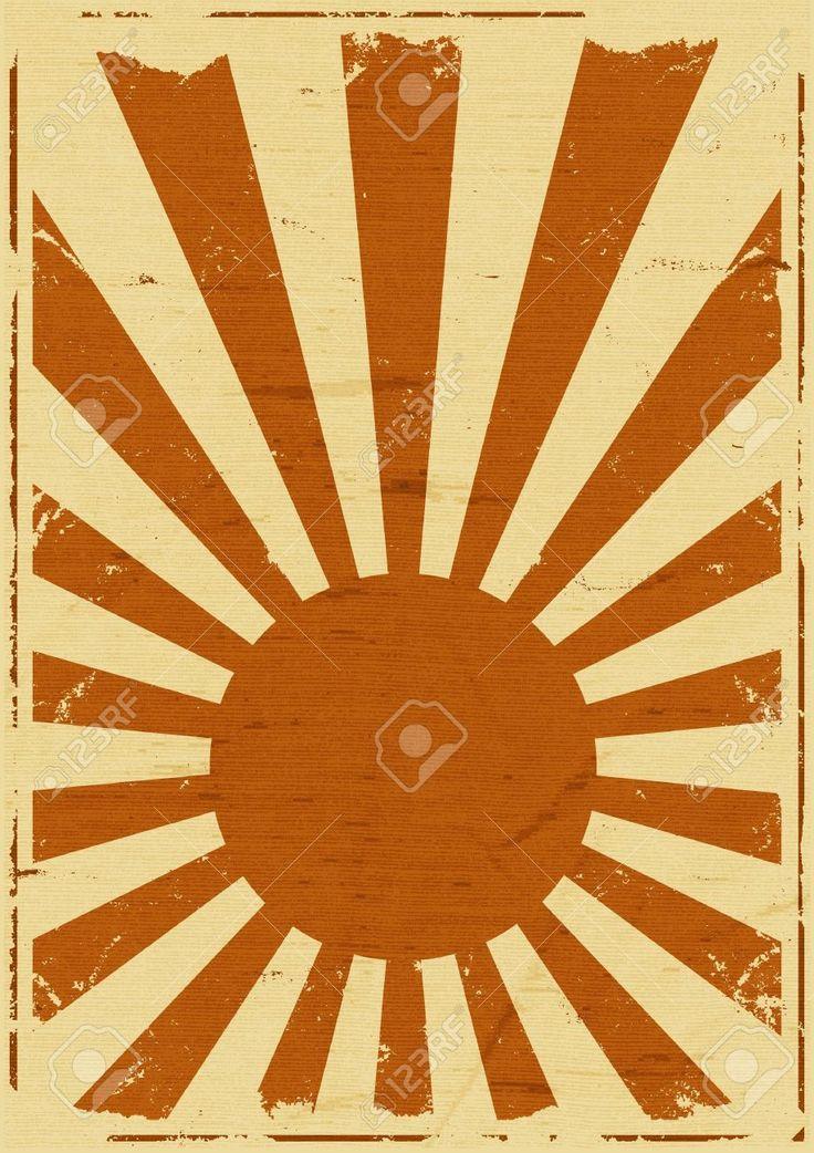 15917152-Ilustraci-n-de-un-fondo-retro-vintage-japon-s-bandera-cartel-s-mbolo-del-pa-s-del-sol-naciente-Foto-de-archivo.jpg (918×1300)