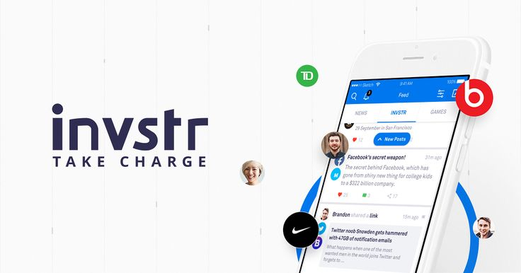 invstr is a new social network for finance bringing you all the financial info you need in a single app. TAKE CHARGE & MAKE CHANGE!