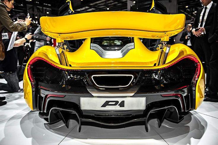 Another badass. McLaren P1 at Geneva Motor Show. #mcLaren #P1 #geneva #ass