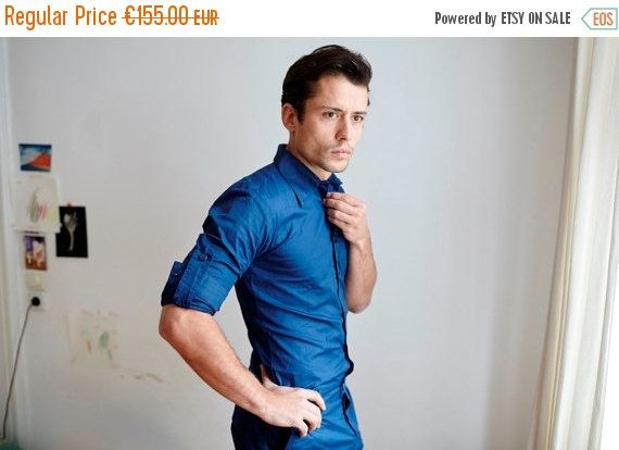 ON SALE Jumpsuit for Men, Designer Jumpsuit, Navy Blue Jumpsuit, Fashion for Men, Unique Fashion, Fashion from Berlin,