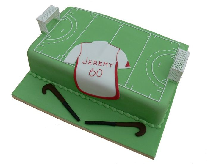We love hockey and we also love Cake... So this is just heaven!