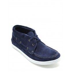 Week end   scarpe sportive da uomo, sneaker da uomo made in italy, scarpe da uomo casual: AMERIGO- BLU SUEDE