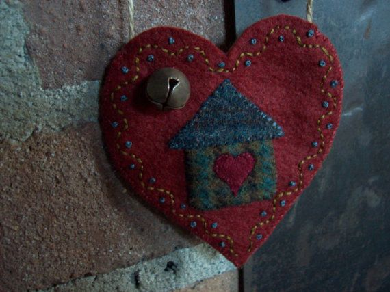 Home is Where the Heart is Rustic Country Heart by rustiquecat